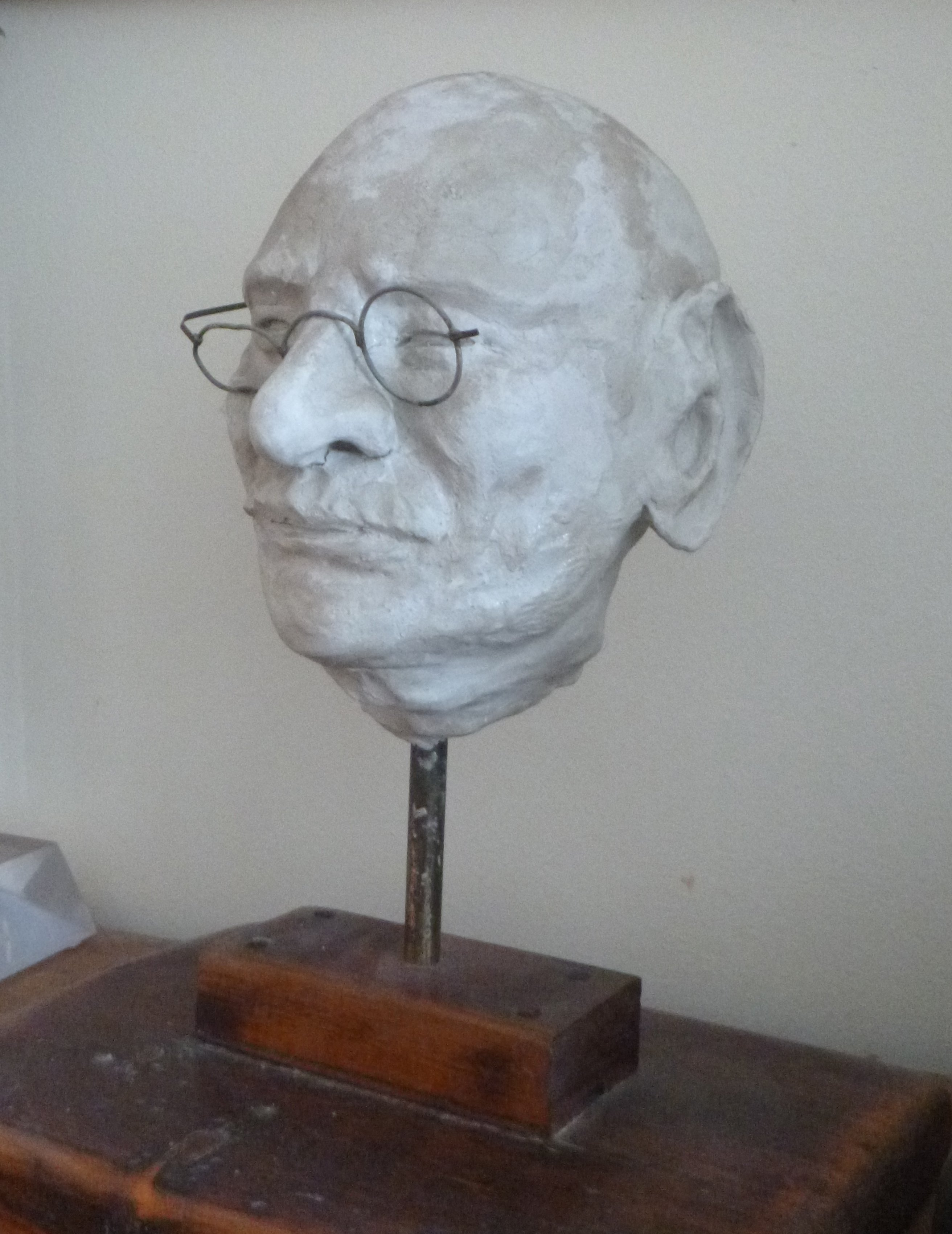 GHANDI, air-dried clay